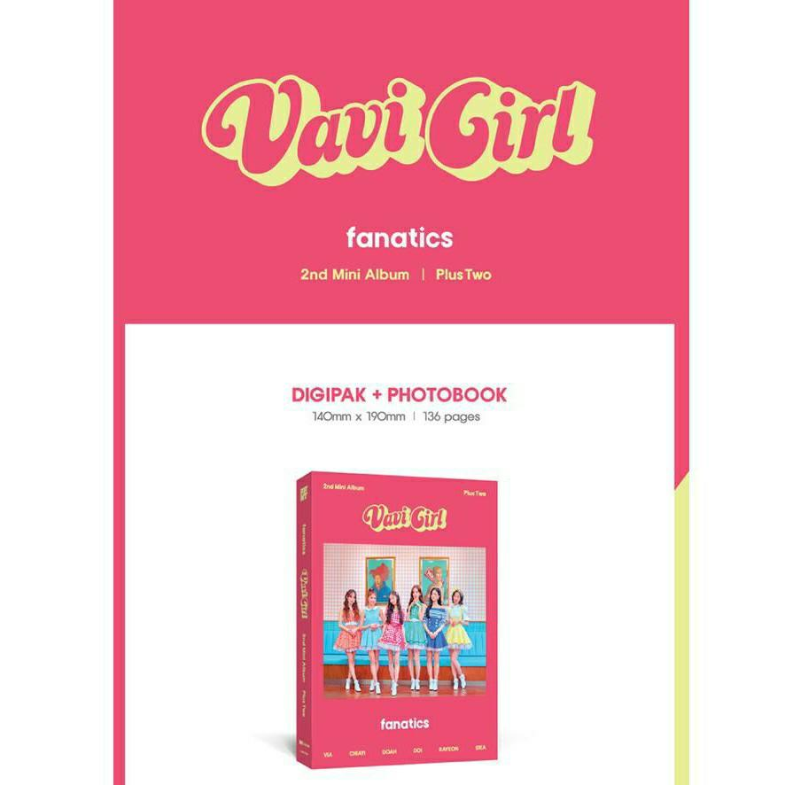(FREE POSTAGE) Vavi Girl Fanatics 2nd Mini Album Plus Two