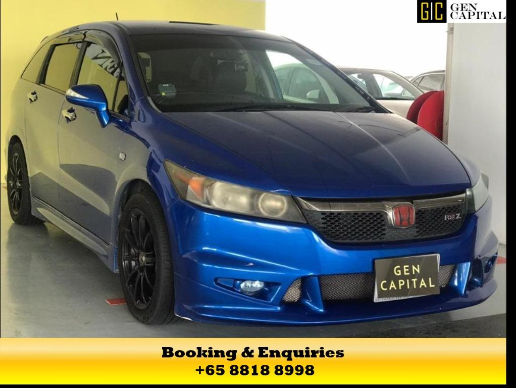 HONDA STREAM RSZ - UP FOR RENT! CIRCUIT BREAKER PROMOTION ON RIGHT NOW! $500* DEPOSITS TO DRIVE AWAY! WHATSAPP US FOR MORE INFORMATION +65 8818 8998!