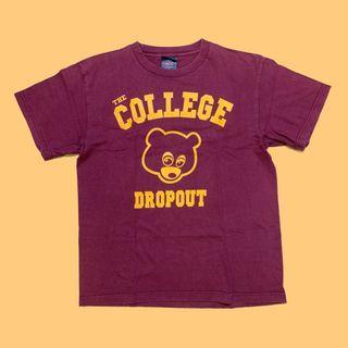 JCI:Vintage KANYE WEST The College Dropout 專輯Rap Tee / YEEZY