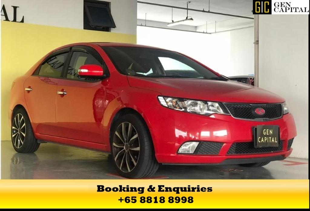KIA CERATO FORTE UP FOR RENT! CIRCUIT BREAKER PROMOTION ON RIGHT NOW! $500* DEPOSITS TO DRIVE AWAY! WHATSAPP US FOR MORE INFORMATION +65 8818 8998!
