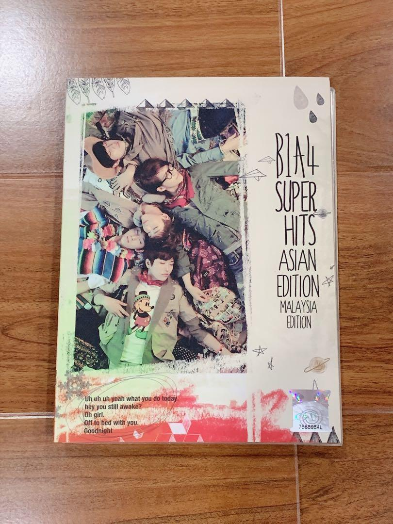 Limited Edition B1A4 Super Hits Asian Edition (Malaysia Edition)
