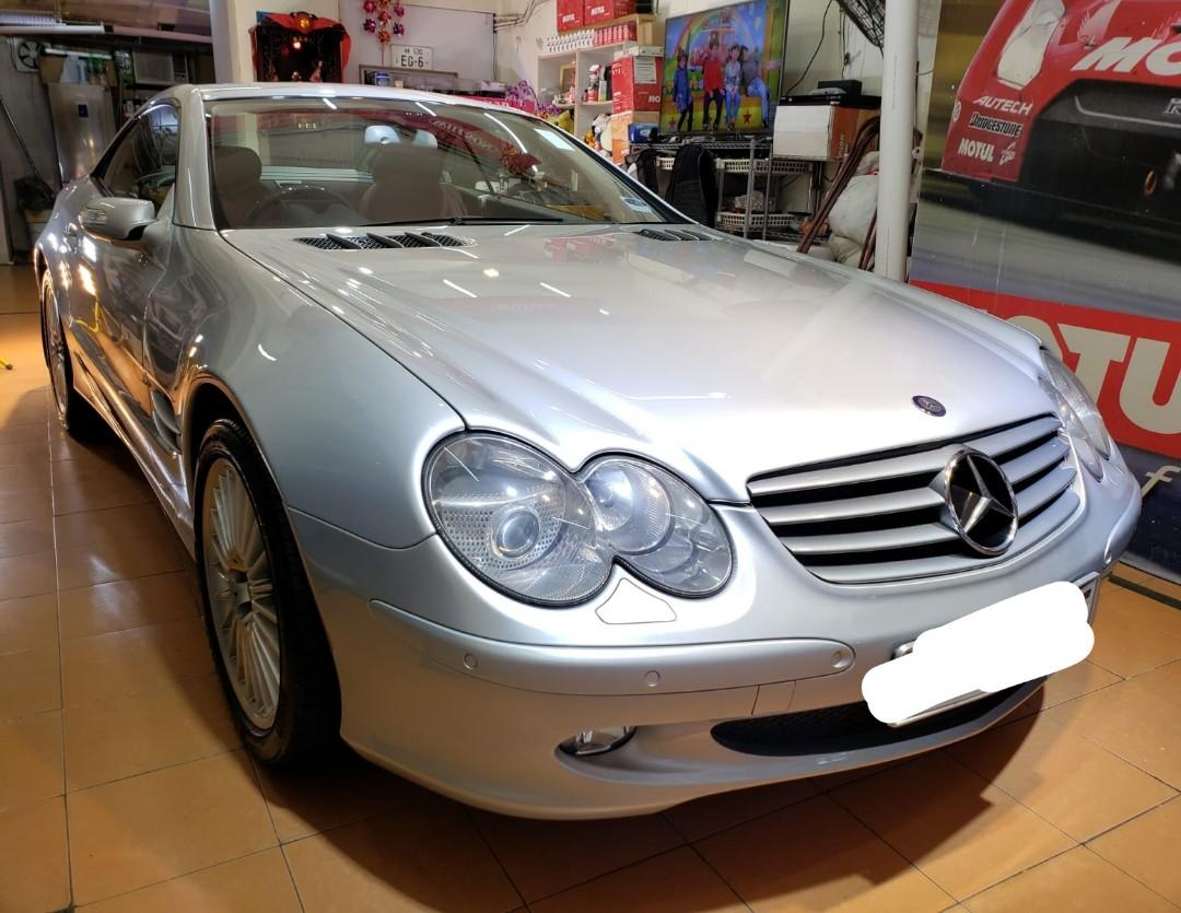 Mercedes-Benz 2005 SL500 2005 SL500 Auto