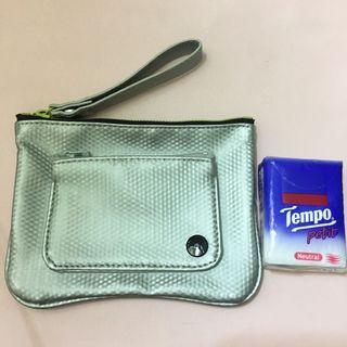 Puma 銀色小袋 Silver Clutch / Little bag / Small bag