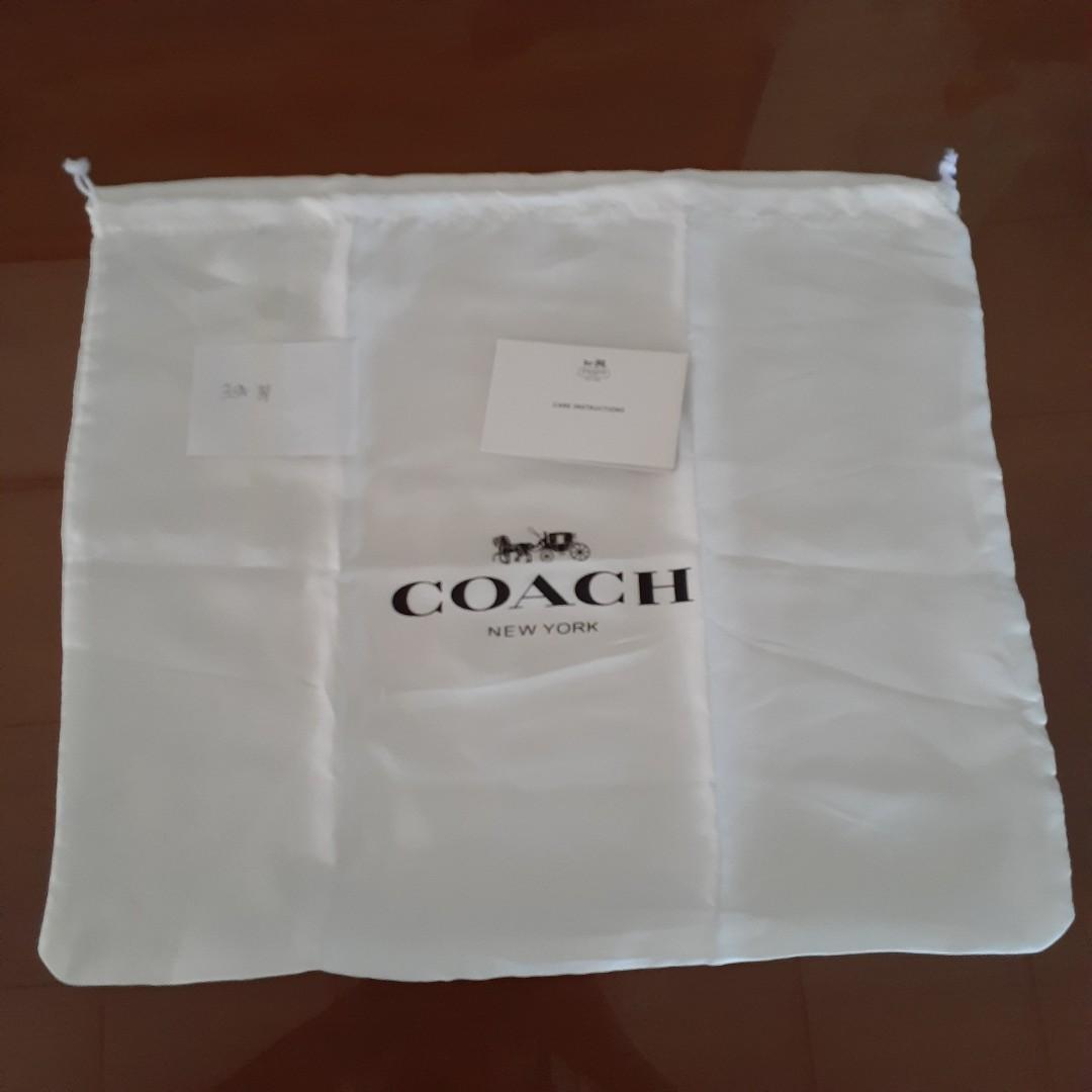 Set dust bag dustbag dan card coach untuk tas mini swagger parker mini backpack crossbody