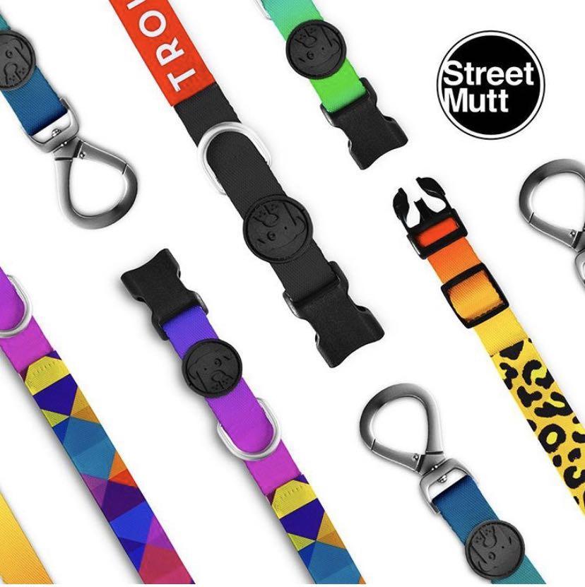 Street Mutt Leashes & Collars