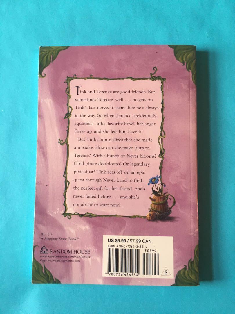 "Disney Tinker bell Kids Book - ""Tink, North of Never Land"""