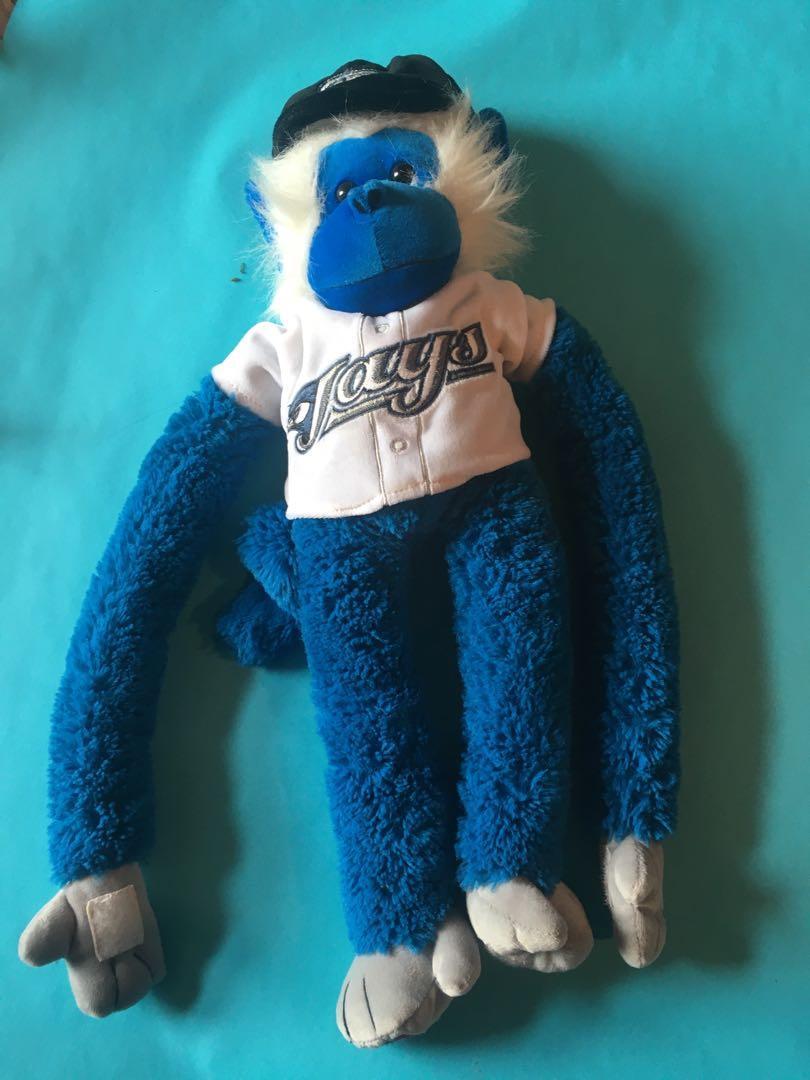Toronto Blue Jays Monkey Plush Stuffie