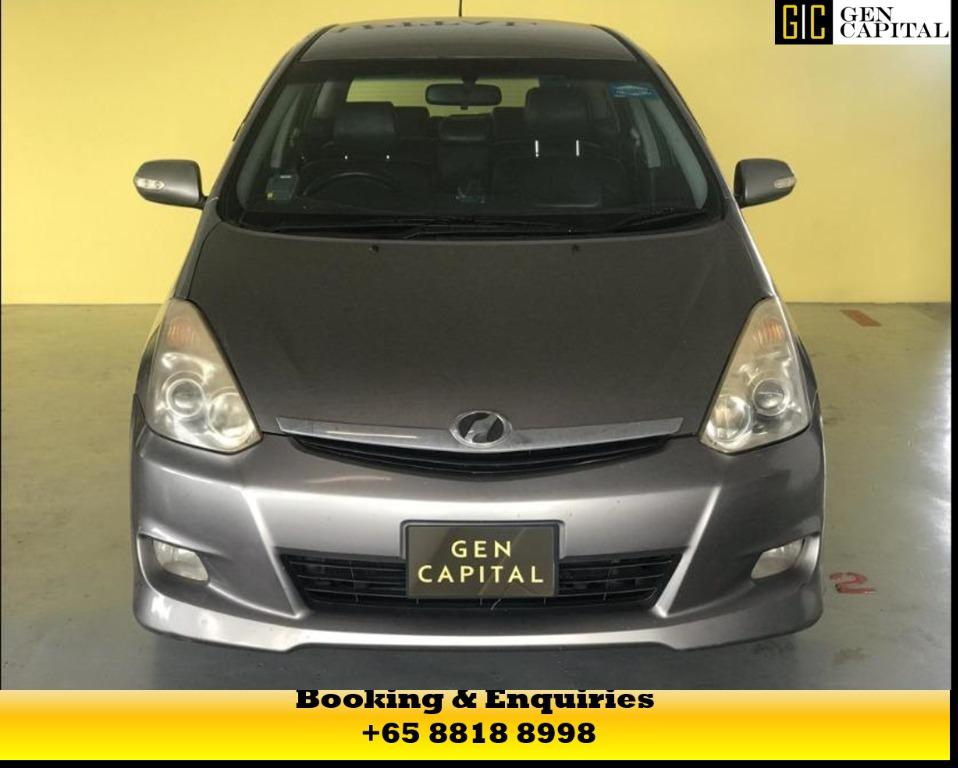 TOYOTA WISH -  UP FOR RENT! MAY CIRCUIT BREAKER PROMOTION ON RIGHT NOW! $500* DEPOSITS TO DRIVE AWAY! LALAMOVE/GRAB/GOJEK/PHV READY! WHATSAPP US FOR MORE INFORMATION +65 8818 8998!