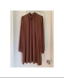 Wilfred silky mauve dress