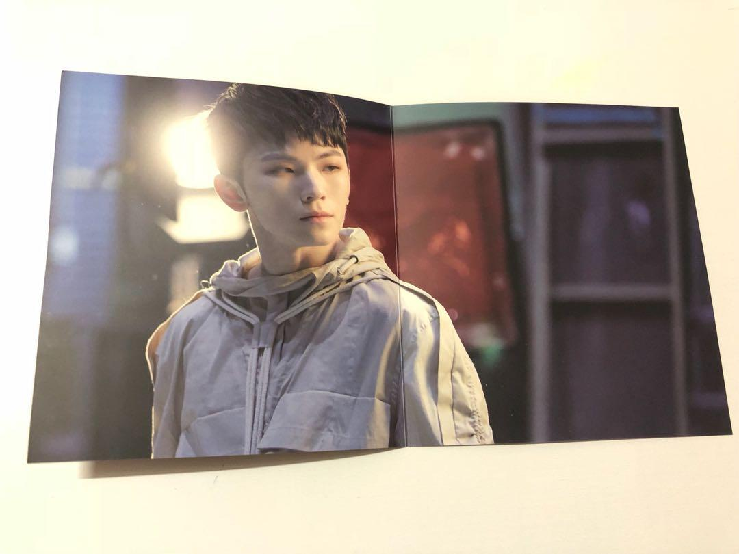 Stock Clearance : Woozi Behind The Scene Card from You Made My Dawn Album