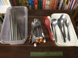 筷子湯匙叉子