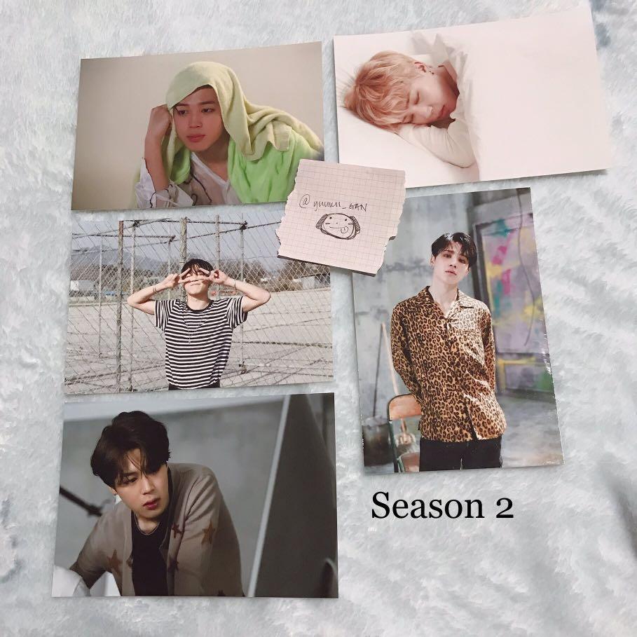 오,늘 BTS Oneul Exhibition in Seoul Live Photo's JIMIN - Season 2