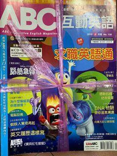 大家說英語(有附光碟)、ABC  英文雜誌