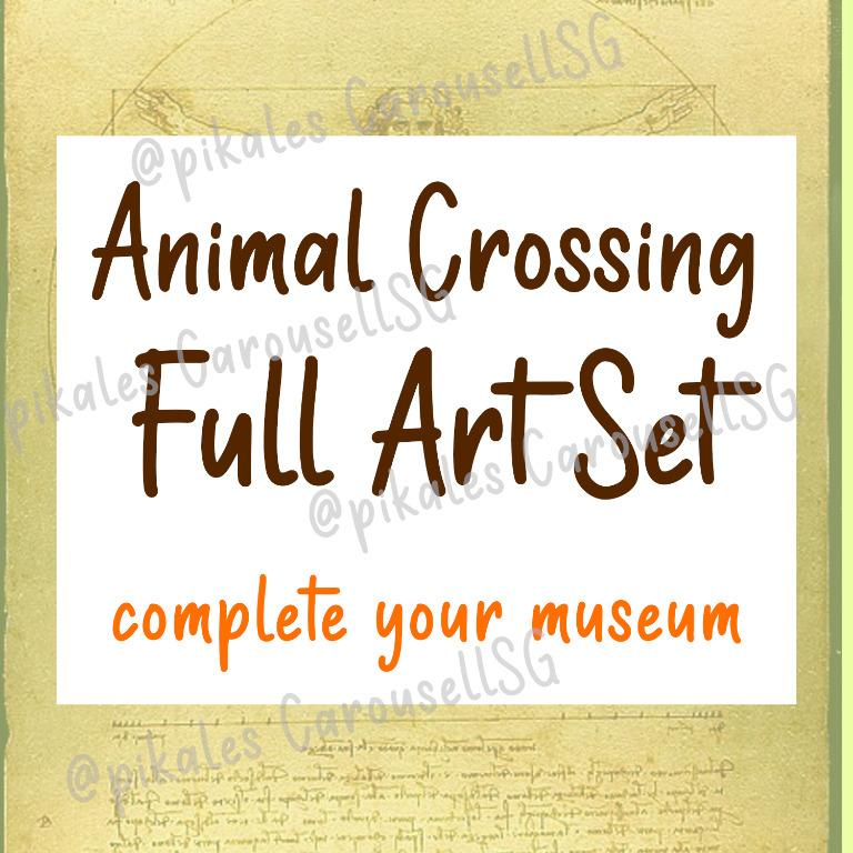 Animal Crossing Full Art Collection