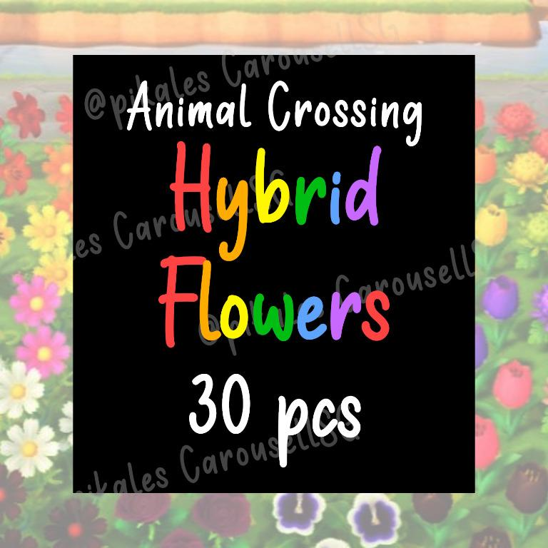 Animal Crossing Hybrid Flowers