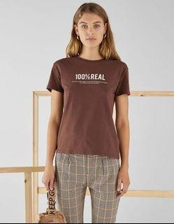 Bershka Printed T-Shirt