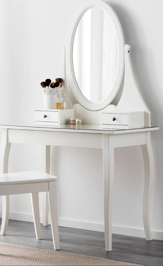 Dressing Table Ikea Vanity Furniture Tables Chairs On Carousell
