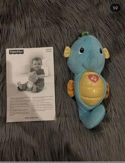 Fisher Price Soothe Baby With Lullaby Biru