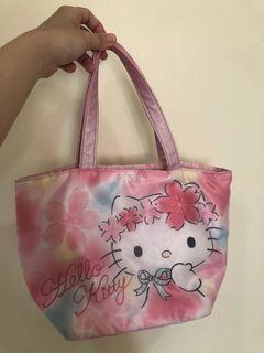 日本版Hello kitty櫻花手提包