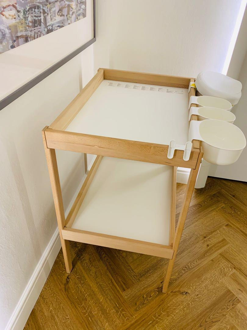 Picture of: Ikea Sniglar Changing Table Babies Kids Cots Cribs On Carousell