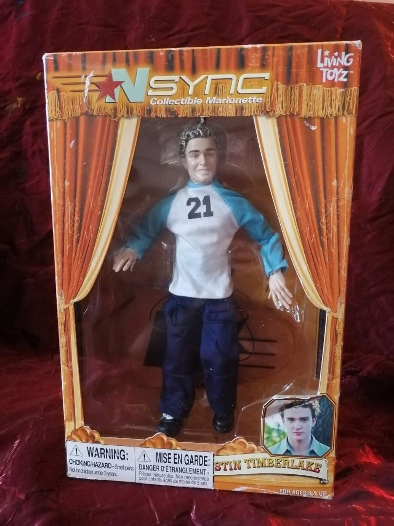 Justin Timberlake marionette doll - Nsynch