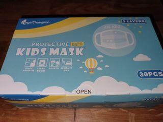 Kid's 3-Ply Disposable Face Mask