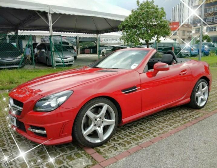 MERCEDES SLK200AMG 2Door 2014Record on the road Price RM148,888.88🗣📱0⃣1⃣2⃣2⃣3⃣6⃣7⃣2⃣7⃣2⃣🙏☺