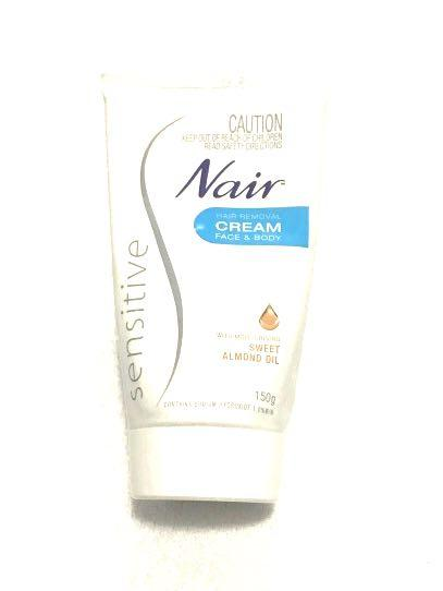 Nair Face And Body Hair Removal Cream For Sensitive Skin Health