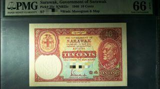 *Sharing* Sarawak 10 cents 1940