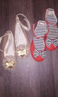 Sugar kids sandals size 4 and 5