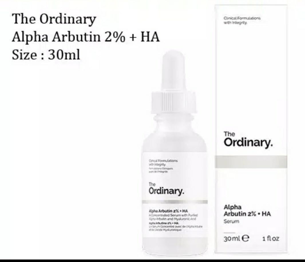 The Ordinary Alpha Arbutin 2 Ha Kesehatan Kecantikan Kulit Sabun Tubuh Di Carousell