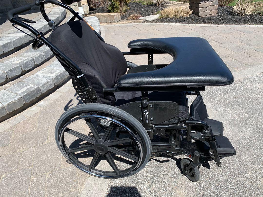 18x16 manual tilt wheelchair