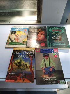 5pcs Classic Books