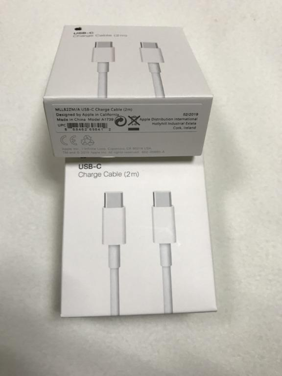 AMAZING DEAL!! Apple USB-C Charge Cable 2m in Retail Box