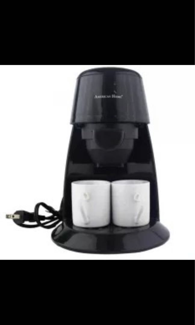 American Home Coffee Maker For 2 Home Furniture Home Appliances Other Kitchen Appliances On Carousell