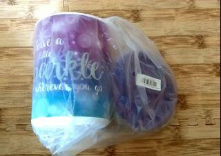 Canister Sparkle Tupperware 1.2 L (1 pc)