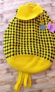 Dowabag Ethnic Yellow