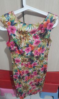 ZARA VINTAGE FLORAL DRESS AUTHENTIC