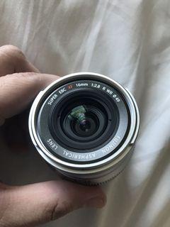 Fuji 16 f/2.8