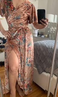 Honey Floral Dress - Size S