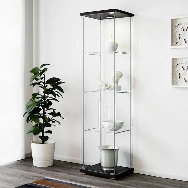Ikea Glass Door Cabinet Home Amp Furniture Others On Carousell