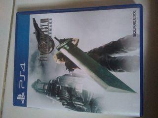 Kaset bd ps4 Final Fantasy vii 7 remake
