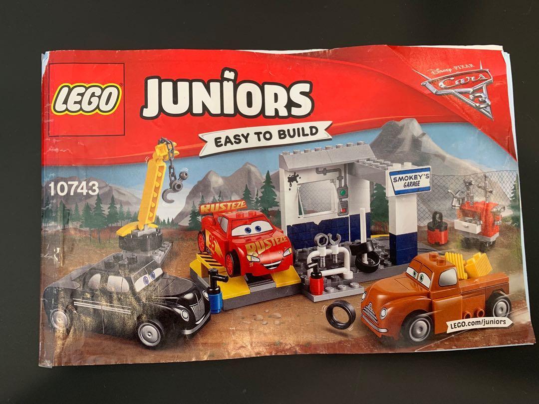 Lego Juniors 10743 Smokey S Garage Toys Games Bricks Figurines On Carousell