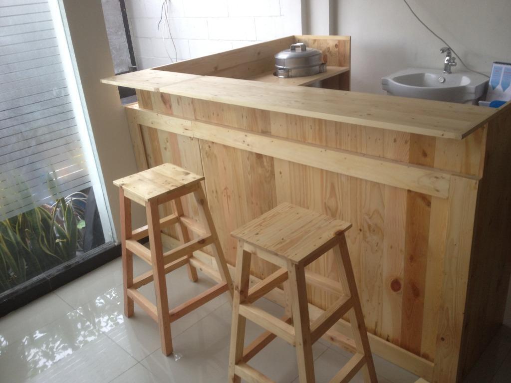Meja Bar Minibar Xcelso Rumah Cafe Resto Perabotan Rumah Di Carousell Harga meja mini bar
