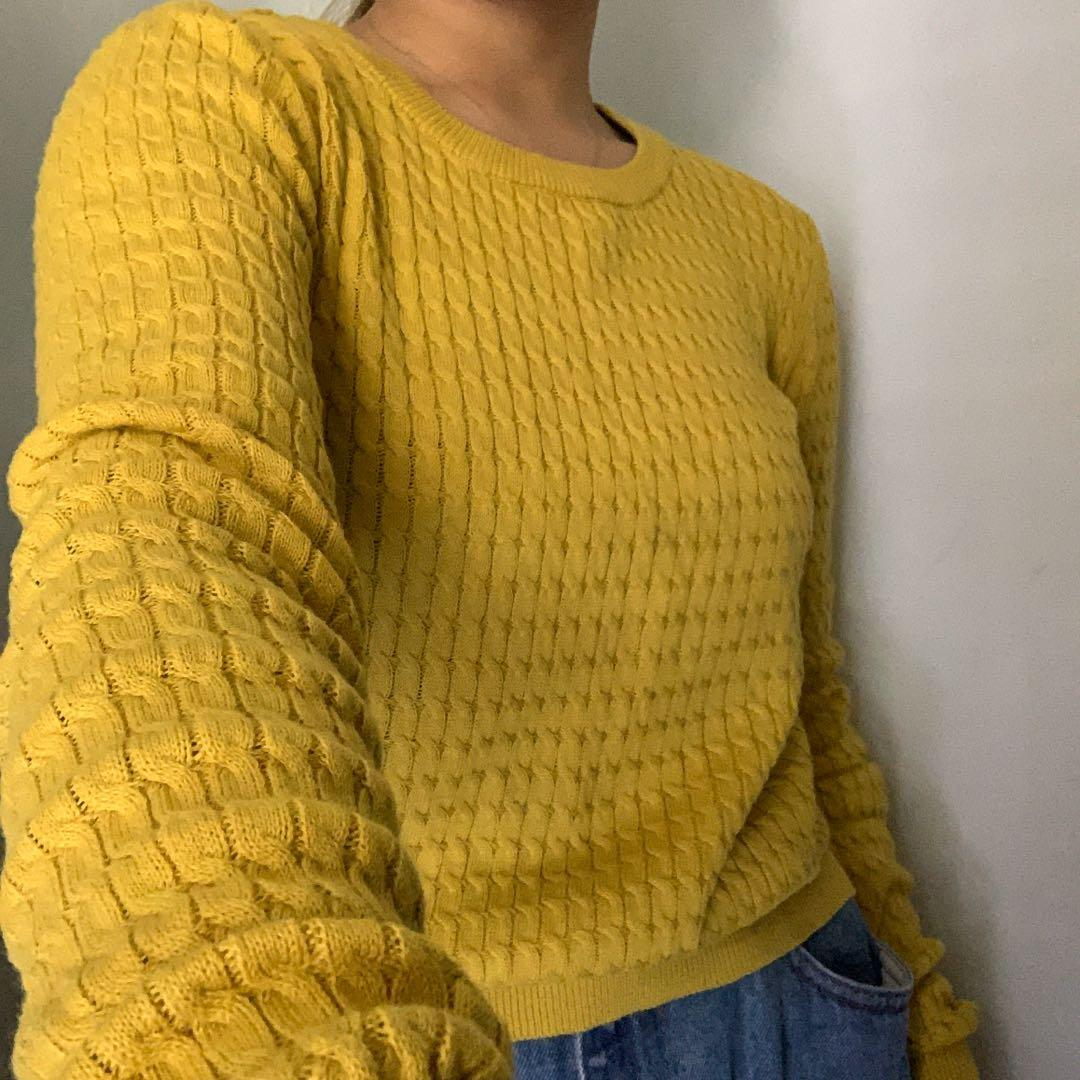 mirrou knitted jumper