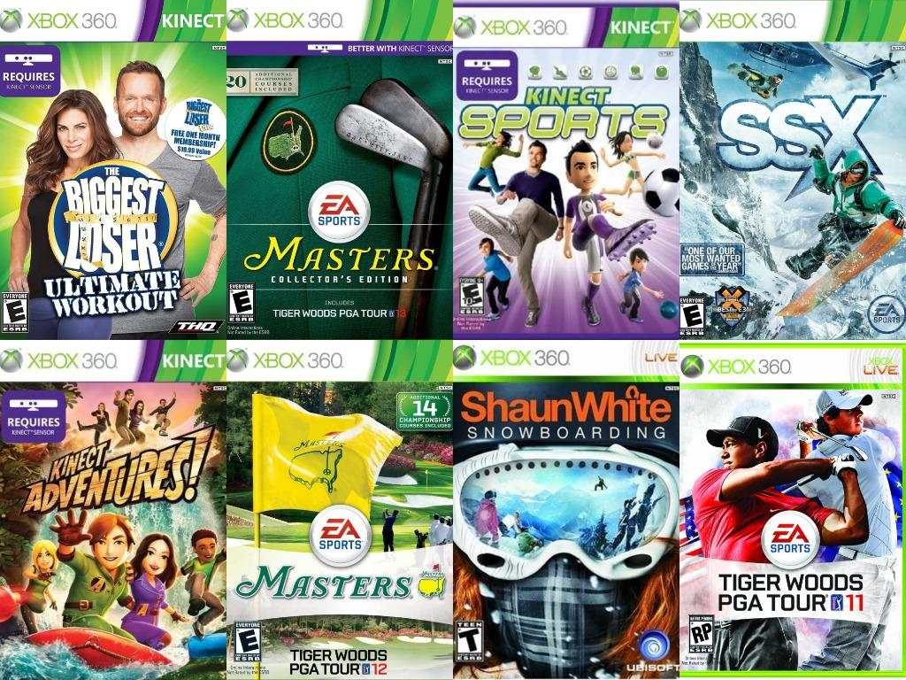 Mixed Xbox 360 Video Games
