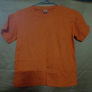 Orange shirt unisex
