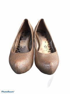 Sepatu high heels glitter/blingbling/kilap