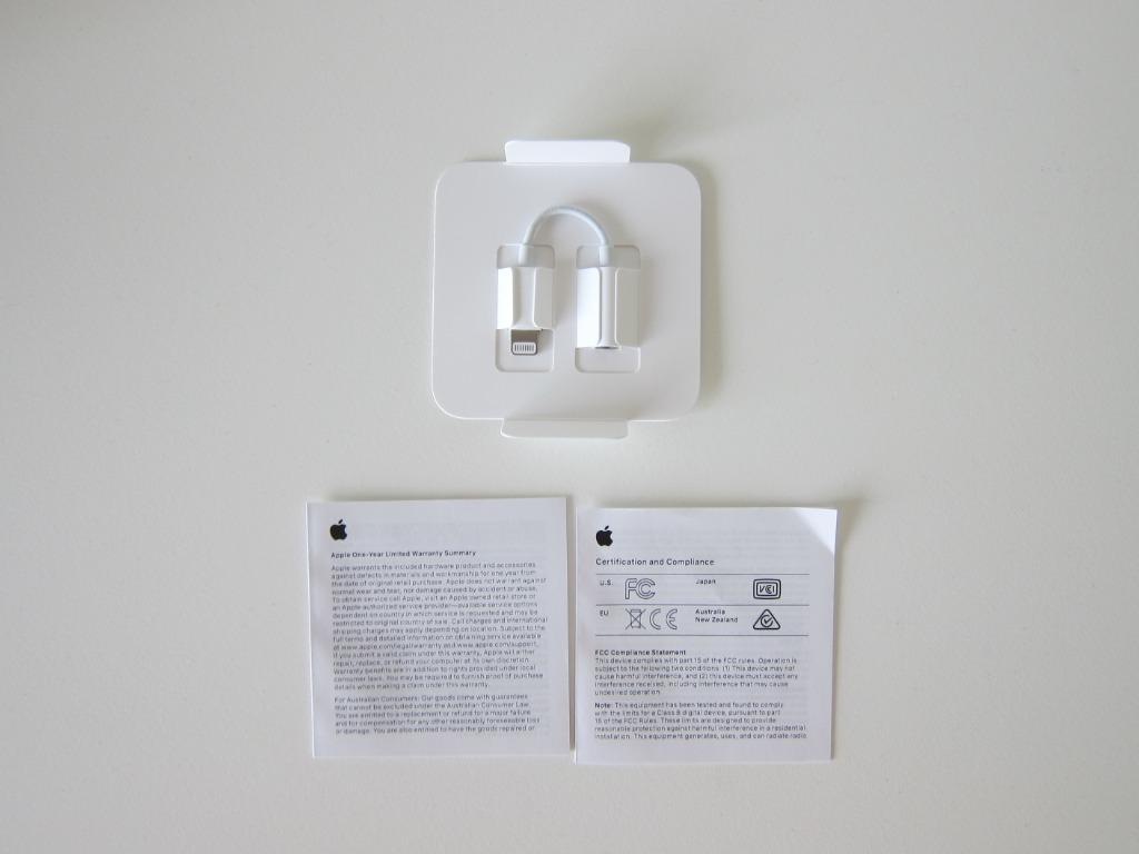 SWEET DEAL!! Apple Lightning to Headphone 3.5mm Jack Adapter
