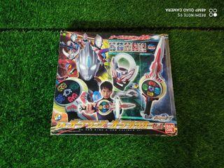 Ultraman Orb DX Orb Ring and Calibur set